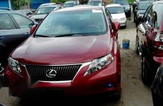 Tokunbo Lexus RX 350 2012 Red for sale
