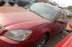 Super Clean Nissan Altima 2003 Red for sale