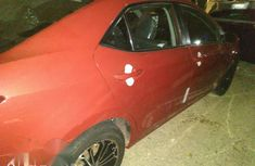 Toyota Corolla 2018 Red for sale