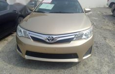 Clean Toyota Camry 2012 Gold for sale