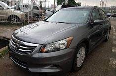 Honda Accord 2012 Gray for sale