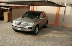 Mercedes Benz ML500 2006 Silver For Sale