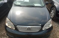Toyota Corolla Sport 2005 Black for sale