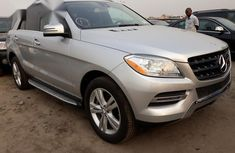 Used Mercedes-Benz M Class ML350 4MATIC 4dr 2013 Silver for sale