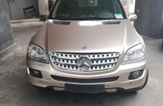 Mercedes Benz ML 350 2007 Gold for sale