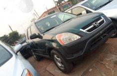 Honda CR-V 2004 Green for sale