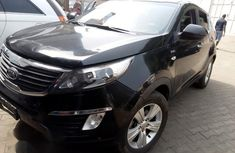 Neatly Used Kia Sportage 2011 Black for sale