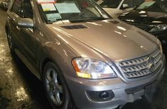 Tokunbo Mercedes-benz ML350 2009 Gold for sale