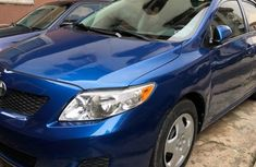 Very clean direct 2009 Toyota Corolla Blue for sale