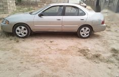 Nissan Sentra 2004 Silver for sale