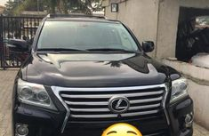Registered Lexus LX570 2013 Black for sale