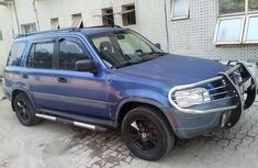 Clean Honda CR-V 1999 Blue for sale