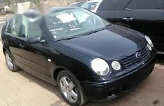 Clean Tokunbo Volkswagen Polo 2004 Black for sale