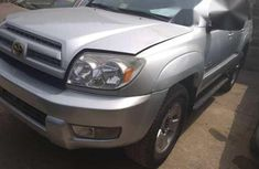 Toyota 4runer 2004 Silver for sale
