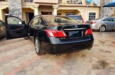 Newly Arrived Tokunbo Lexus Es 350 2008 Black for sale