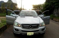 Mercedes Benz ML350 2007 Silver for sale