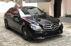 Mercedes Benz E 350 2014 Black for sale