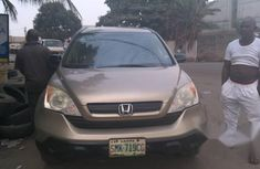 Clean Used Honda CR-V 2009 Brown for sale