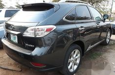 Registered Lexus Rx350 2011 Gray for sale