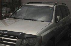 Toyota Highlander 2003 Gold for sale