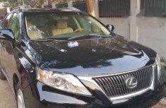 Lexus RX 350 2010 Black for sale