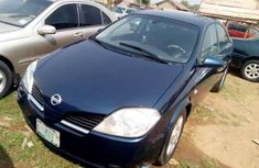 Nissan primera 2002 blue for sale