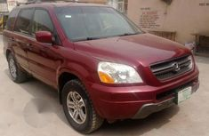 Honda Pilot 2005 Red for sale