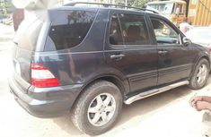 Super Clean Mercedes Benz ML 500 2004 Blue for sale