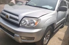 Toyota 4runner 2004 Silver for sale