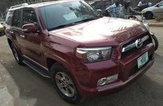 Fresh Toyota 4runner 2013 Red