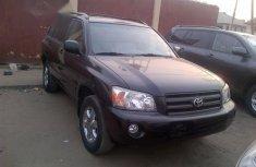 Tokunbo Toyota Highlander 2007 Black for sale