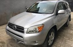 Toyota RAV4 Limited 2008 Silver for sale