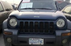 Very Neat Jeep Liberty 2004 Blue for sale