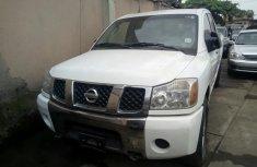Nissan Titan 2007 White for sale