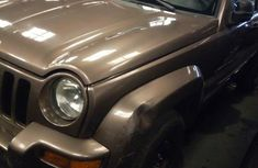 Jeep Liberty 2003 Beige for sale