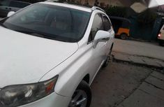 Very Clean Nigerian Used Lexus 350 2011 White for sale