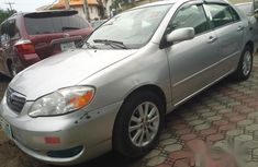 Clean Toyota Corolla 2008 Gray for sale