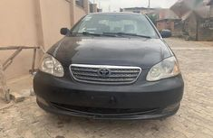 Toyota Corolla 2005 Black for sale