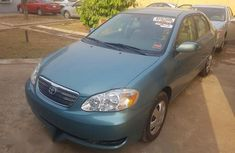 Clean Toyota Corolla 2007 Green for sale