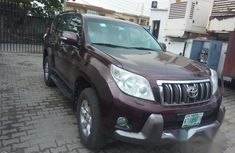 Toyota Land Cruiser Prado 2011 Brown for sale