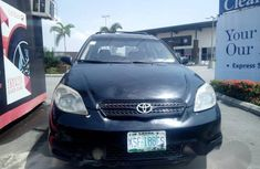 Toyota Matrix 2004 Black For Sale