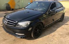 Tokunbo Mercedes Benz C300 4matic 2011 Black for sale