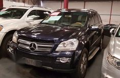 Clean Mercedes Benz GL450 2009 Blue for sale