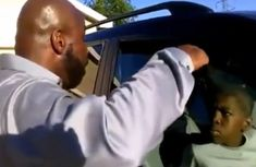 [VIDEO] Ranging kid drives off his father's car after storming out