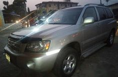 Toyota Highlander 2006 Gray for sale