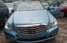 Mercedes Benz E350 2010 Blue for sale