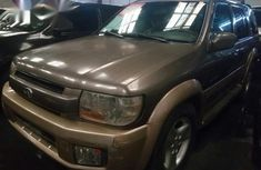 Used Infiniti Qx4 2001 Gold For Sale