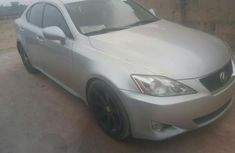 Lexus IS250 Gray 2006 Silver for sale