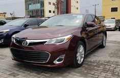 Toyota Avalon XLE 2015 Red for sale