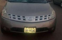 Nissan murano 2005 brown for sale
